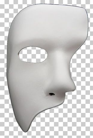 The Phantom Of The Opera Mask Headgear PNG