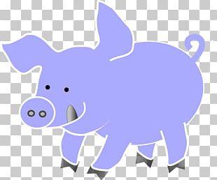 Domestic Pig Indian Elephant Olivia PNG