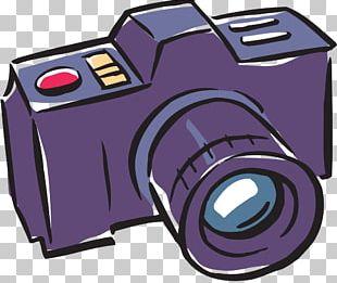 Camera Cartoon Photography PNG