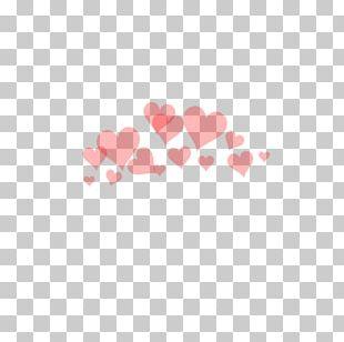 Overlay Heart PicsArt Photo Studio PNG