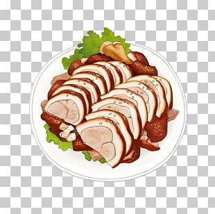 Peking Duck Barbecue Chinese Cuisine Duck Meat PNG