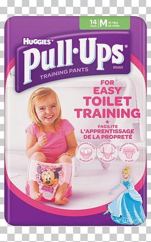 Diaper Huggies Pull-Ups Training Pants Toilet Training PNG