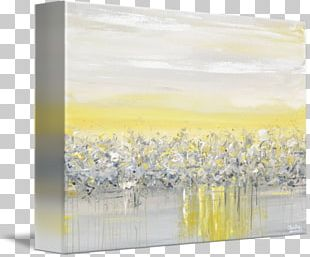 Abstract Art Gallery Wrap Painting Canvas Print PNG