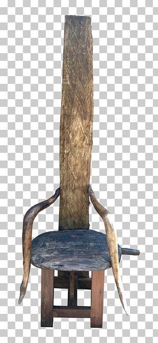 Table Furniture Chair Throne Reclaimed Lumber PNG