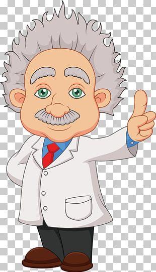 Albert Einstein Memorial Cartoon Mathematician PNG