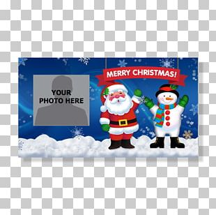 Santa Claus Christmas Day Snowman Christmas Card Greeting & Note Cards PNG