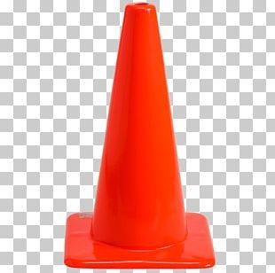 Traffic Cone Orange Safety Car PNG