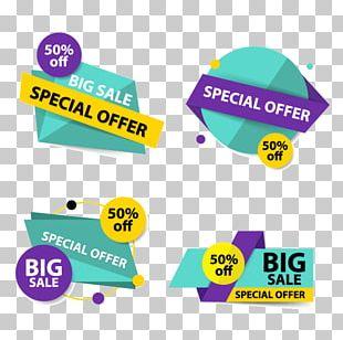 Advertising Flyer Sales Logo Banner PNG
