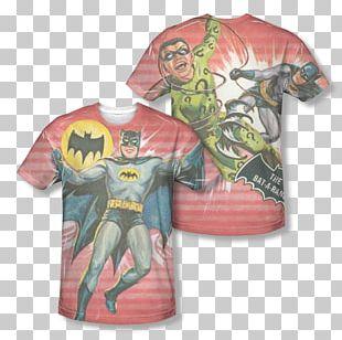 T-shirt Batman Riddler Cassandra Cain Arkham Asylum: A Serious House On Serious Earth PNG