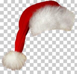 Santa Claus Hat Christmas Cap PNG