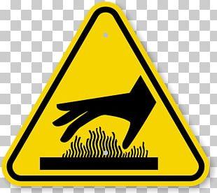 Hazard Symbol Burn Warning Sign PNG