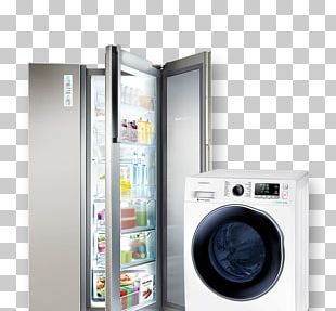 Samsung Home Appliance Refrigerator Television Set Air Conditioner PNG