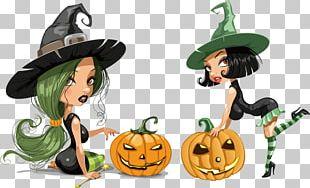 Witchcraft Cartoon Halloween PNG