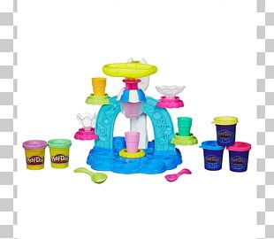 Play-Doh Ice Cream Makers Sundae Food Scoops PNG