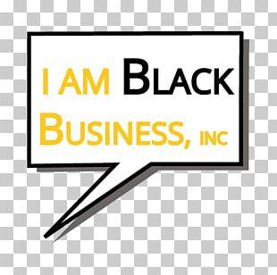 I Am Black Business PNG