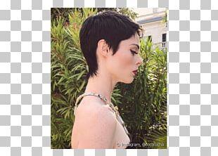 Pixie Cut Hairstyle Short Hair Undercut PNG