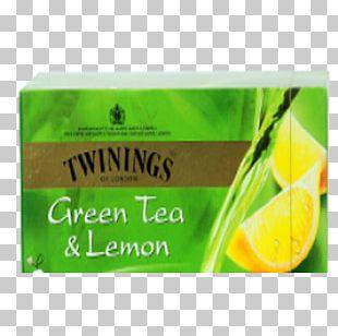 Green Tea Twinings Lemon Tea Bag PNG