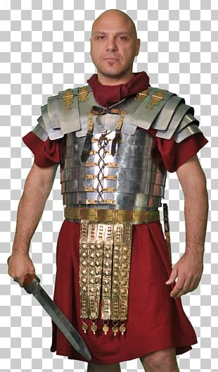 Ancient Rome Roman Army Soldier Body Armor PNG