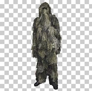 Ghillie Suits Clothing Military Camouflage PNG
