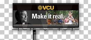 Virginia Commonwealth University Billboard Learning Advertising PNG