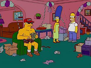 The Simpsons Game Homer Simpson Marge Simpson Principal Skinner Edna Krabappel PNG