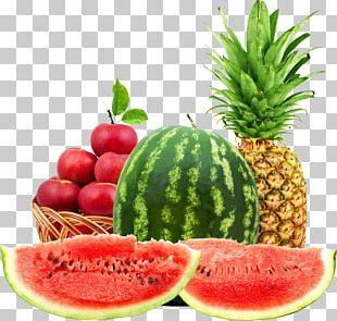 Juice Vegetarian Cuisine Fruit Salad Watermelon Pineapple PNG