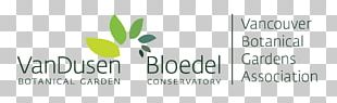 VanDusen Botanical Garden Logo Brand Font PNG