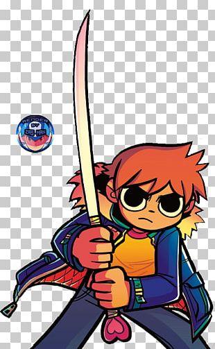 Scott Pilgrim Vs. The World: The Game Ramona Flowers Knives Chau Comic Book PNG
