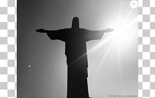 Christ The Redeemer Statue Silhouette Shoulder Photography PNG
