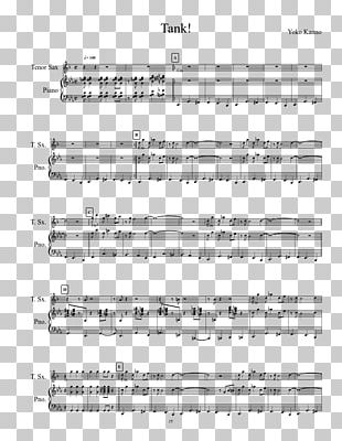 Sheet Music COWBOY BEBOP Lead Sheet PNG
