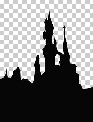 Sleeping Beauty Castle Cinderella Castle Silhouette PNG