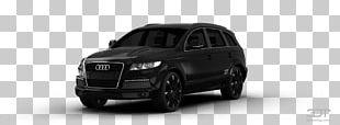 Tire Car Audi Q7 Bumper Luxury Vehicle PNG