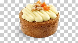 Cupcake Petit Four Carrot Cake Muffin Buttercream PNG