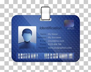 Name Tag Identity Document Template Badge Business Cards PNG