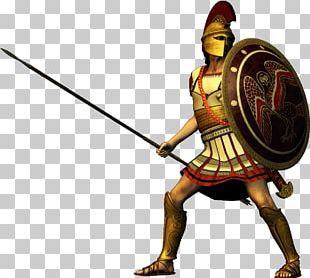 Spartan Army Ancient Greece Laconia Hoplite PNG