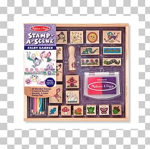 Rubber Stamp Melissa & Doug Toy Postage Stamps Amazon.com PNG