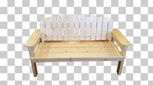 Bed Frame Couch Chair Wood PNG