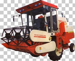 Combine Harvester Agricultural Machinery Agriculture PNG