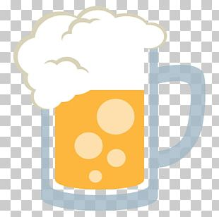 Beer Braise & Brew Alcoholic Drink Emoji Champagne Glass PNG