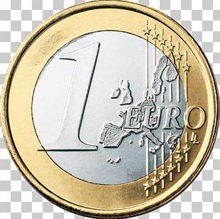 Euro Coins Europe Money 1 Euro Coin PNG