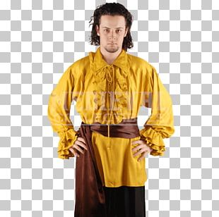 Robe Clothing Middle Ages Shirt Costume PNG