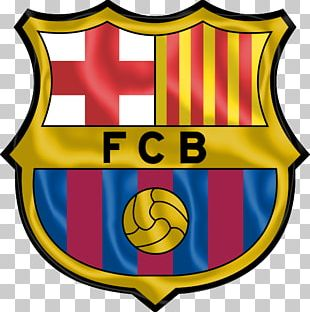 FC Barcelona La Liga Logo Football Player PNG