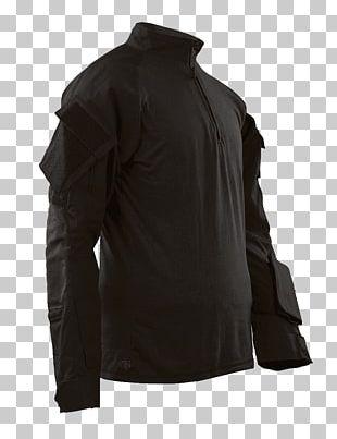 Tru-Spec Short Sleeve 1/4 Zip Combat Shirt Army Combat Uniform Military United States Of America PNG