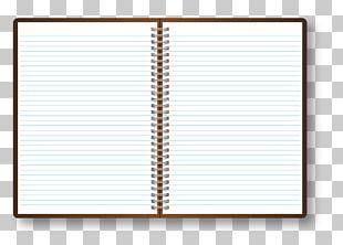 Paper Notebook Line Font PNG