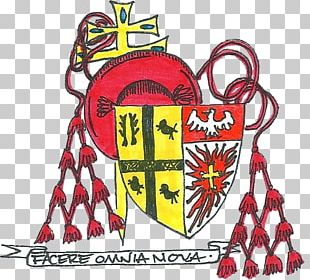 Roman Catholic Archdiocese Of Detroit Cardinal His Eminence Coat Of Arms Theologian PNG