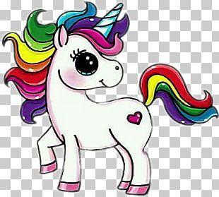 Drawing Unicorn Cartoon Sketch PNG