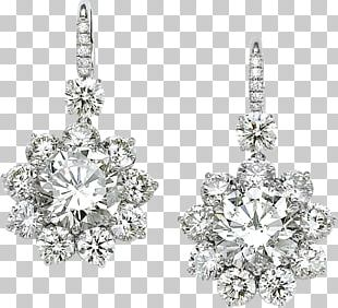 Earring Diamond Jewellery PNG
