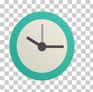Mobile Phone Time Icon PNG