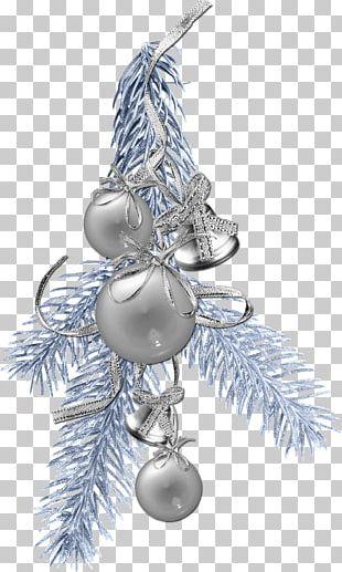 Christmas Blue Ball PNG