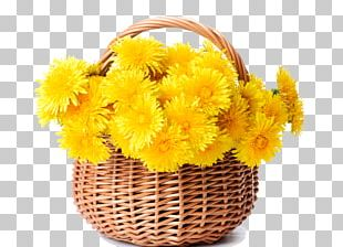 Basket Flower Yellow Stock Photography Wicker PNG